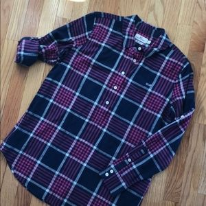 Vinyard Vines Pink Navy Plaid relaxed fit